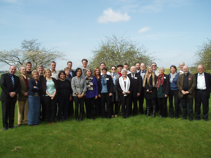 """EI members at the April 2014 conference """"Hope in the Ecumenical Future,"""" held at Oxford University."""