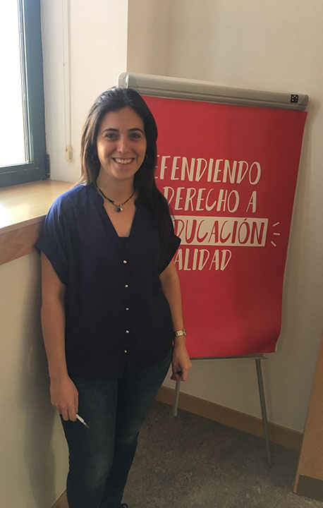 Belén Rodríguez, Director of Evaluation at Entreculturas.