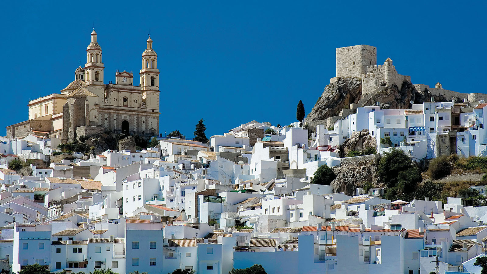 Buildings in Andalucia, Spain
