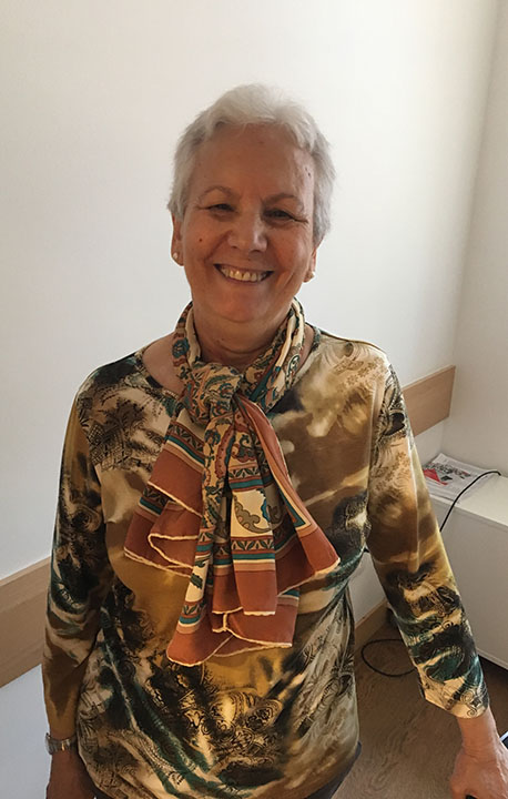 María Cristóbal, Entreculturas Volunteer