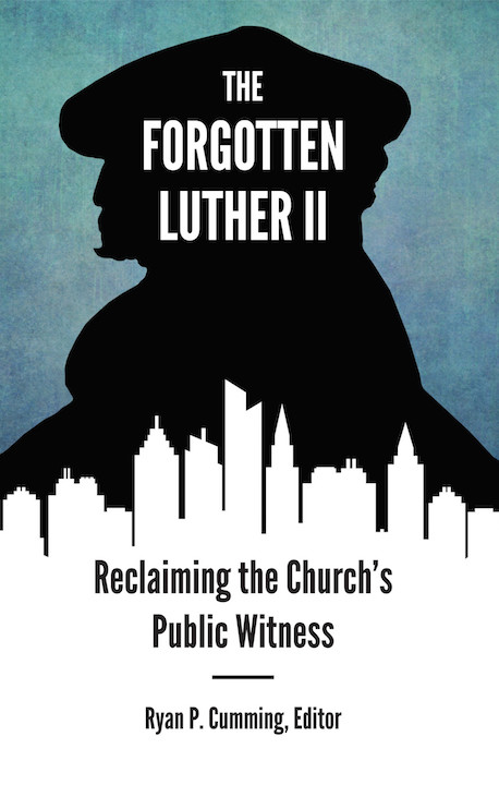 """Cover of a publication from the """"Forgotten Luther"""" conference"""