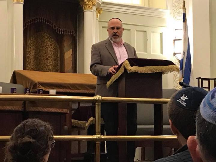 Rabbi Hyim Shafner, head of Kesher Israel Synagogue in Washington, DC