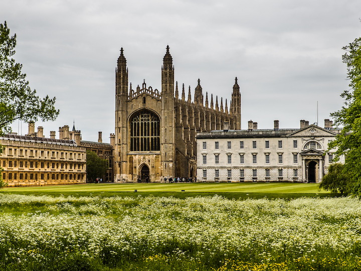 Exterior of King's College Chapel, Cambridge University. Photo by Pablo Fernández, 2015.