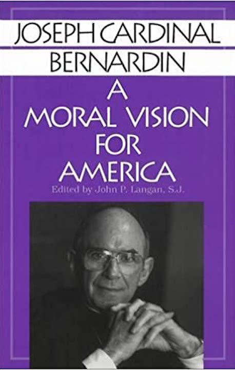 "Cover of ""A Moral Vision for America."""